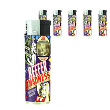 Reefer Madness Poster D05 Lighters Set of 5 Electronic Refillable Butane