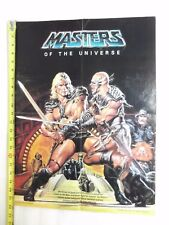 VINTAGE MASTERS OF THE UNIVERSE POSTER HE-MAN VS. BLADE MOVIE, EARL NOREM