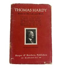 Thomas Hardy Notes On His Life & Work 1925 Paperback