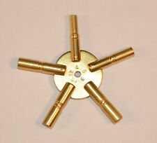 5-Prong Clock Key, Odd Number Sizes