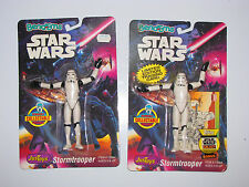 1993 Justoys Star Wars Bend 'Em Stormtrooper, Limited with Trading Card, Moc