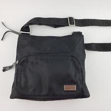 Womens Kenneth Cole Reaction Black Cross Body Bag Purse Adjustable Strap