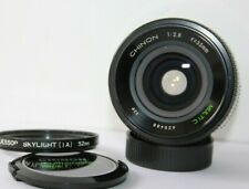 Chinon Multi C. 35mm f2.8 Wide Angle Prime Lens. Pentax M42 Screw Mount