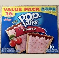 NEW Pop Tarts Toaster Pastries Frosted Cherry 16 Count