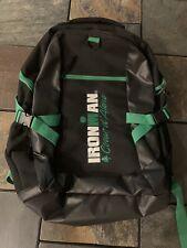 Nwot Ironman Coeur d'Alene Triathlon Backpack Pack 140.6 Idaho Green/Black Rare!