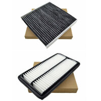 Combo Set Engine Cabin Air Filter for Honda Pilot Acura MDX Ridgeline 3.5L ONLY