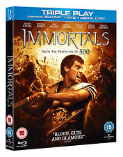 Immortals / Blu-ray + DVD with rare Slipcover