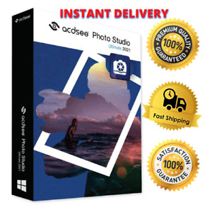 ‌ACDSee ‌‌Photo Studio ‌Ultimate 2021⭐‌Lifetime Activation⭐fast delivery‌🔥
