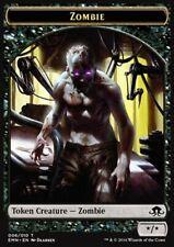 jeton-zombie Dragons of tarkir Magic Tuile-zombie