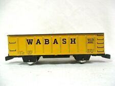Marx Wabash WAB 80982 Gondola with Wood Log Load Model Railway Train B70-47
