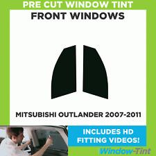 Pre Cut Window Tint - Mitsubishi Outlander 2007-2011 - Front Windows