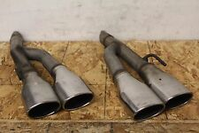 v351  2000 - 2006 Mercedes CL500 Custom Exhaust Pipes with Tips Assy OEM