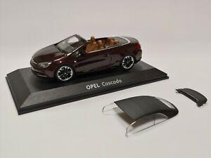 [NEU] Modellauto OPEL Cascada Cabrio 1:43 Dark Mahagony / Mahagonibraun OC10225