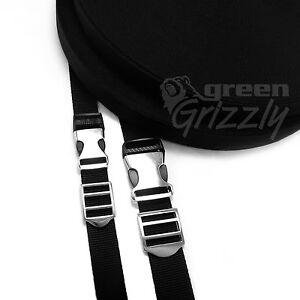 SET Polypropylene strap webbing + metal buckles + metal slides 20 25 mm