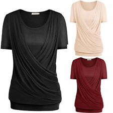 Unbranded Polyester Short Sleeve Tunics