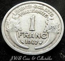 1947 FRANCE 1 ONE FRANC COIN