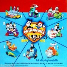 1994 McDonalds Animaniacs MIP Complete Set & U3, Boys & Girls, 3+