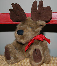 The Boyds Bear Collection Christmas Holiday Reindeer Plush Stuffed Animal 12""