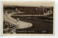 (Gf204-374) Real Photo of Happy Mount, MORECAMBE 1928 Used VG, Matthews #6919
