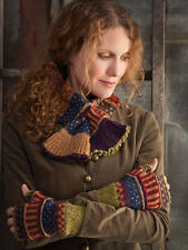 Fair Isle Stranded Colorwork  Glove Shawl Adult Children Knitting Pattern Book