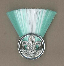 SCOUTS OF FIJI - GROUP SCOUT LEADER / MASTER (GWG COLOR) Metal Plume / Hat Patch