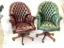 Director Leather Chesterfield CEO Reproduction Office Swivel Chair
