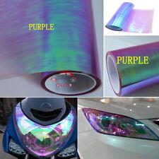 """Chameleon Purple Car Auto Headlight Taillight Tint Vinyl Film Sticker 12""""x120"""""""