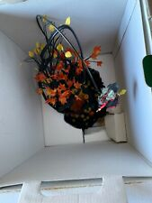 Dept 56 Halloween Village Animated Up Up & Away Witch
