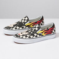 New VANS x Disney Mickey Mouse Slip-on Skate Sneakers Shoes(VN0A38F7UJ4)