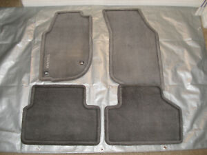 Volvo 740 760 940 960 Factory Floor Mats Gray