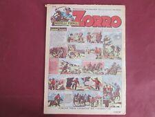 ZORRO N°249 18 MARS 1951 ERIK PELLOS OULIE CLARENCE GRAY SAINT OGAN BON ETAT