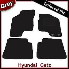 HYUNDAI Getz 2002-2011 montato su misura tappetini auto moquette grigio