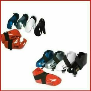 Proforce Sparring Gear Set Package Hands Gloves Foot Guards Karate Tkd Foam Pads