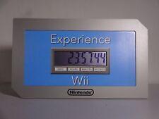 NINTENDO WII COUNTDOWN CLOCK 2006 PROMO DISPLAY ULTRA RARE ZELDA MARIO