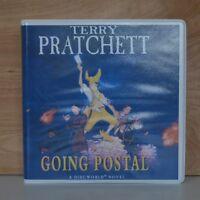 Going Postal: by Terry Pratchett - Unabridged Audiobook - 11CDs