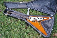 EPIPHONE by GIBSON 1958 KORINA FLYING V REISSUE ELECTRIC GUITAR!!! LOT #C774