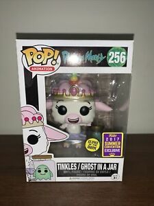 Funko Pop! Vinyl - Rick and Morty: Tinkles / Ghost In a Jar #256 - Vaulted