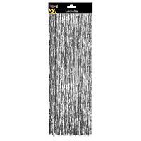 Christmas Tree Decoration - Straight Tinsel Lametta - Silver