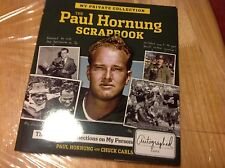 Paul Hornung Scrapbook Signed By Hornung The Green Bay Packers And ND Golden Boy