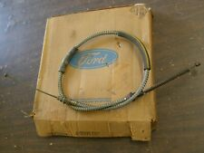 NOS OEM Ford 1966 1973 Bronco Rear Brake Cable LH 1967 1968 1969 1970 1971 1972