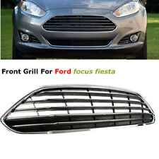 For Ford Fiesta 13-16 European Only Front Bumper Center Grille Grill Stripes