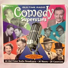 Old-Time Comedy Superstars     (2002, Cassettes)   30 Hours, 20 Cassettes