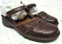 NAOT women's size 37 7 brown leather loafers women's comfort mary janes shoes