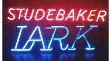 RARE NEW Studebaker Lark Service Dealer US AUTO REAL GLASS NEON SIGN BEER LIGHT