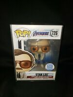 Funko Pop! Stan Lee - Avengers Endgame Shop Exclusive Mint w/Protector In-Hand