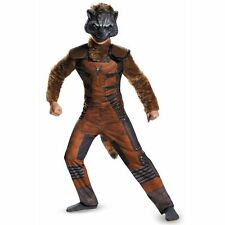 Rocket Raccoon Costume size 7-8 Guardians of the Galaxy New Disguise - No Tail!