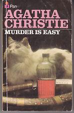 "Mystery Novel:  Agatha Christie ""Murder Is Easy"" Pan Books 1974"