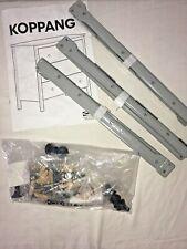 Ikea Koppang Drawer Brackets Tracks 3 Hardware Parts Knobs Instructions NEW