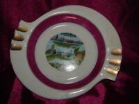 Vintage Windsor Ontario Advertising Ashtray - Japan Porcelain