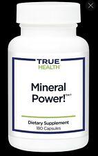 True Health Mineral powder Dietary Supplement 180 Capsules